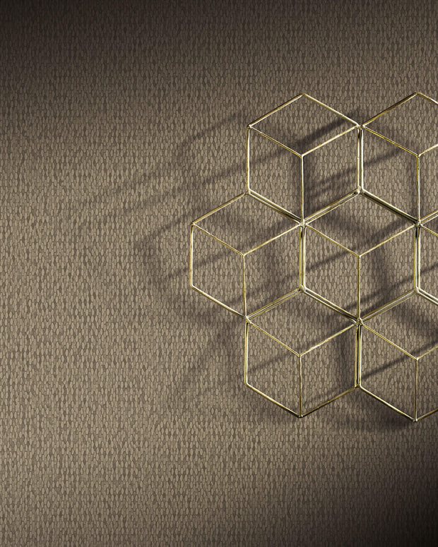Y6231107 Stretched Hexagons Wallpaper Antonina Vella Taupe