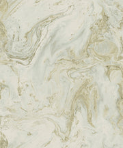 Y6231205 Oil Marble Wallpaper Antonina Vella Green Gold