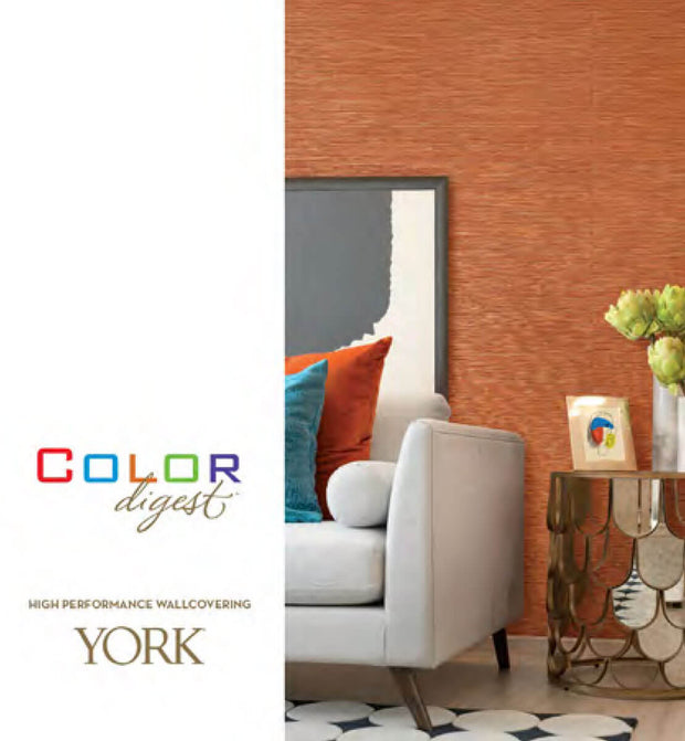 Spun Silk Wallpaper - Light Orange