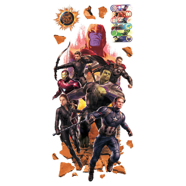 RMK4048GM Avengers Endgame Movie Peel and Stick Giant Wall Decals