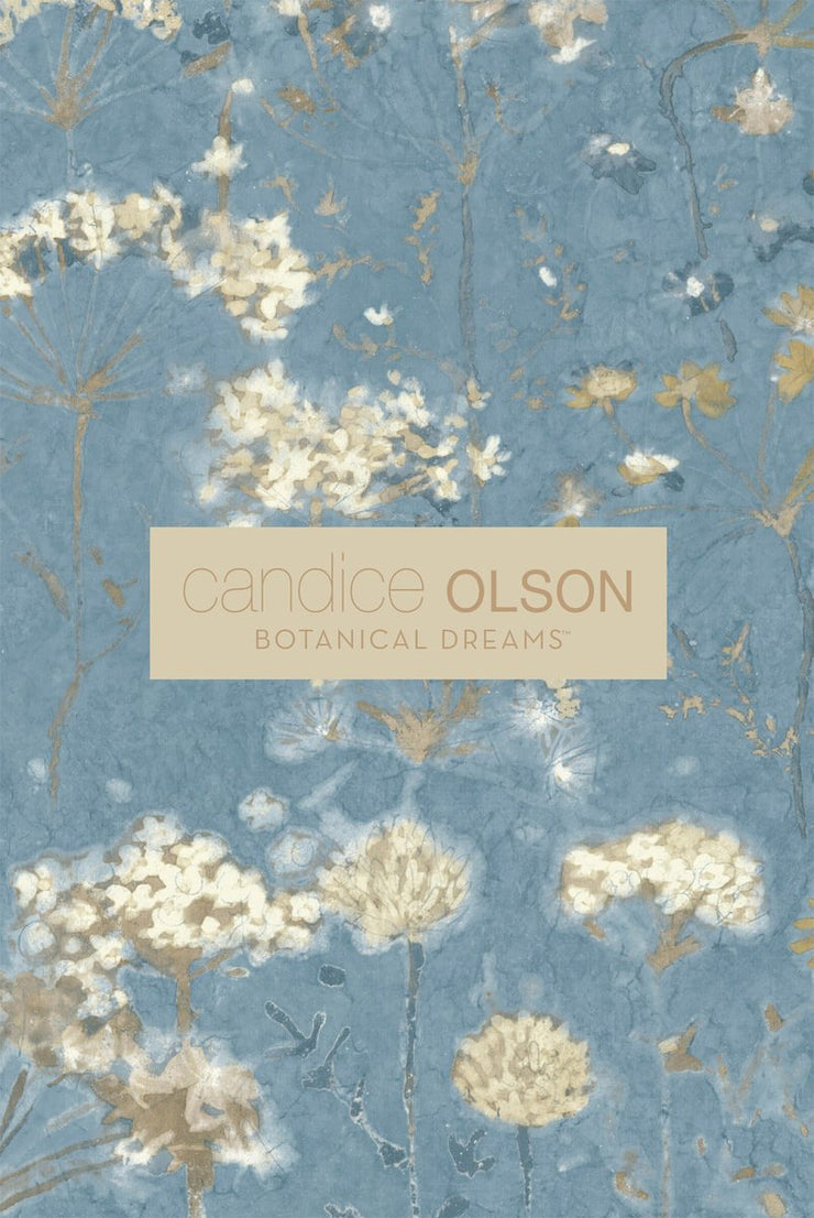 Gingko Trail Wallpaper by Candice Olson - Tan