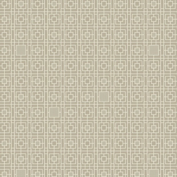 Antonina Vella Deco Screen Wallpaper - Beige