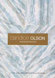 Candice Olson Fantasy Wallpaper - Metallic Blue/Gray