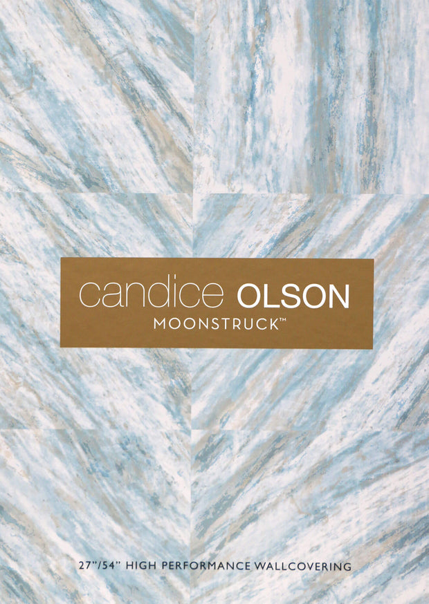 Candice Olson Pave Wallpaper - Metallic Gray