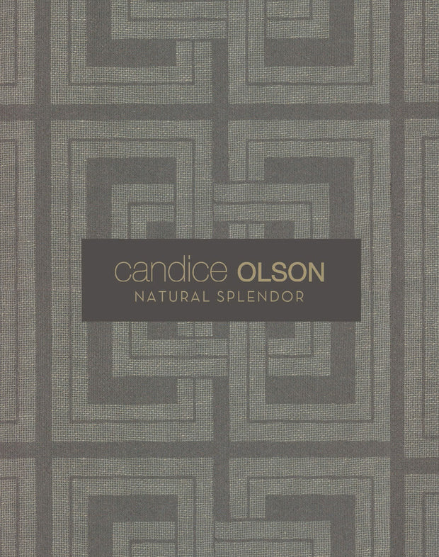 Candice Olson Marquise Wallpaper - Indigo