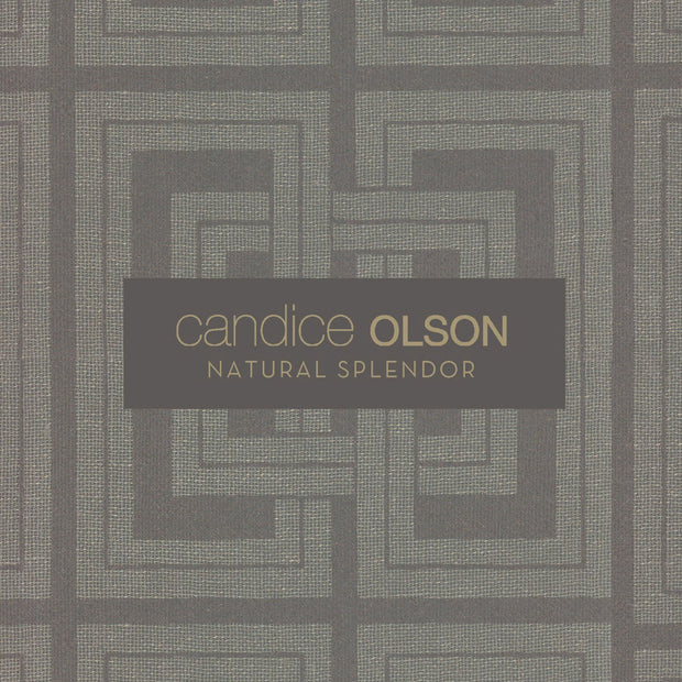 Candice Olson Lombard Wallpaper - SAMPLE SWATCH ONLY