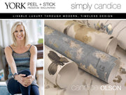 Simply Candice Mirage Peel and Stick Wallpaper - Neutral