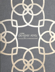 Dazzling Coil Wallpaper - Beige & Metallic Brown