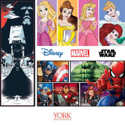 Disney Kids Vol. 4 Princess Silk Stripe Wallpaper - Pink