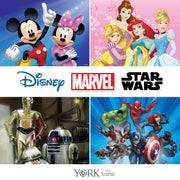 Disney Kids Marvel Comic Strip Wallpaper - White/Black