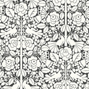 MK1167 Magnolia Home Fairy Tales Wallpaper White Black