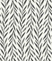 MK1136 Magnolia Home Willow Wallpaper Black