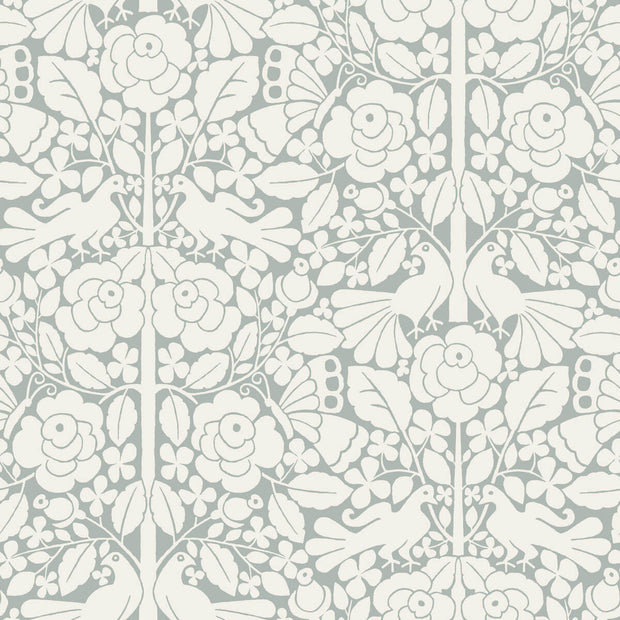 MK1161 Magnolia Home Fairy Tales Wallpaper Blue Grey