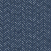 MK1173 Magnolia Home Pick-Up Sticks Wallpaper White Navy