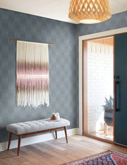 MK1133 Magnolia Home Vantage Point Wallpaper Denim