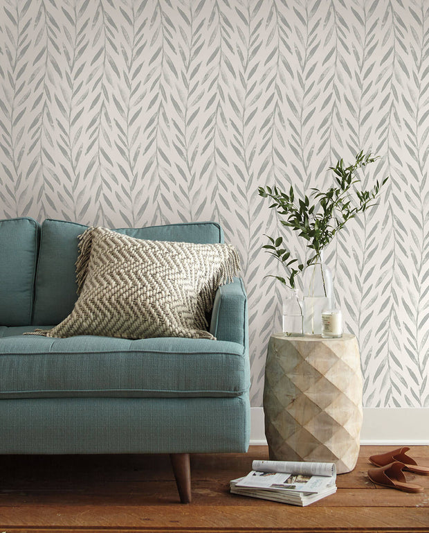 MK1137 Magnolia Home Willow Wallpaper Grey