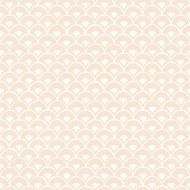 MK1153 Magnolia Home Stacked Scallops Wallpaper Ella Rose