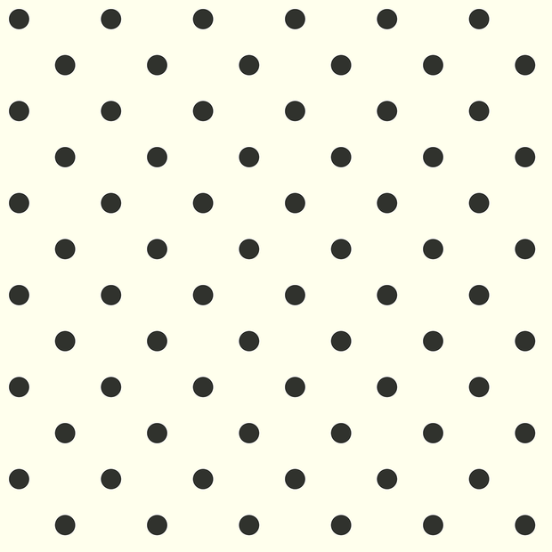 AB1926MH Magnolia Home Black Dots Wallpaper