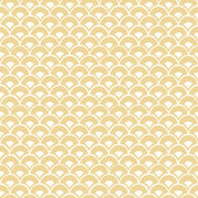 Magnolia Home Stacked Scallops Wallpaper - SAMPLE SWATCH ONLY