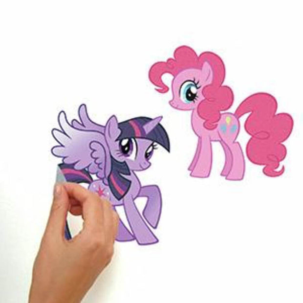 My Little Pony Wall Decals With Glitter