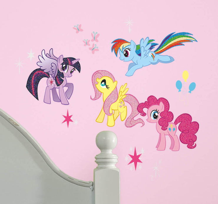 My Little Pony Characters Wall Decals