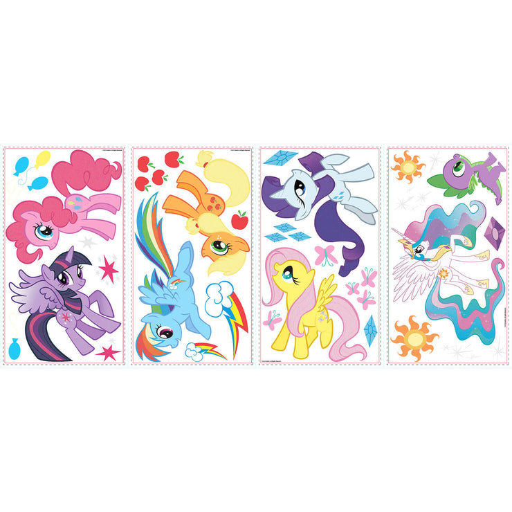 My Little Pony Characters Wall Stickers