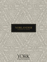 Norlander Alpine Botanical Wallpaper - Gray
