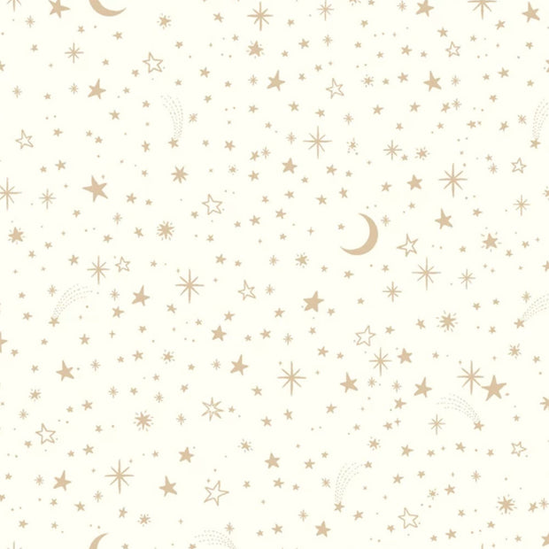 Twinkle Little Star Gold Peel and Stick Wallpaper - SAMPLE