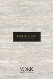 Urban Oasis Brushstrokes Wallpaper - Dark Gray