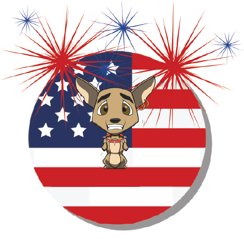 8 Tips to Keep your pet safe during 4th of July fireworks