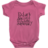 Babies Against White Supremacy Onesie