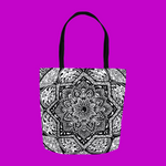 Gem Medallion Tote Bag