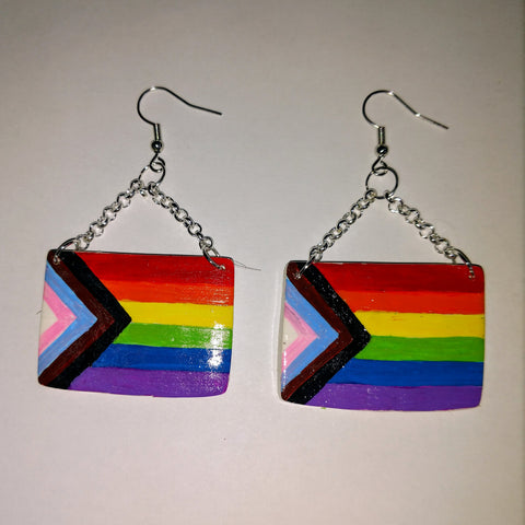 Pride Flag Earrings