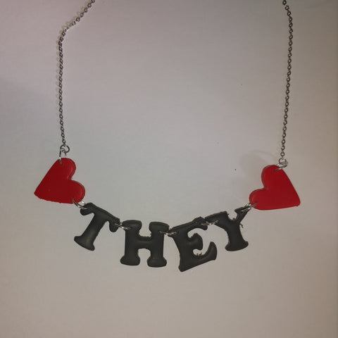They/Them Necklace
