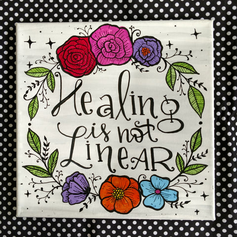 Healing is not Linear Painting