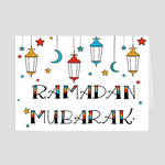 Ramadan Greeting Greeting Card