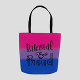 Bisexual & Proud Tote Bag