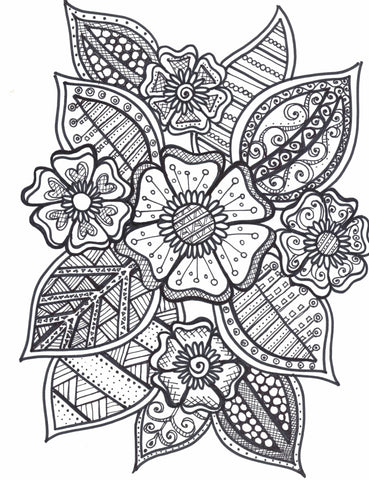 Flower Bundle #3 Illustration