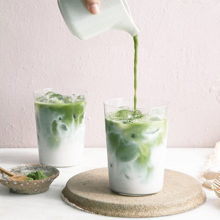 Iced Collagen Matcha Latte Recipe