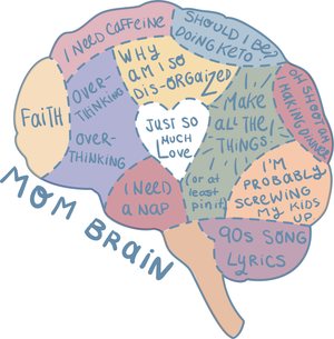 "Suffering from ""MOM BRAIN""? We have the answer 