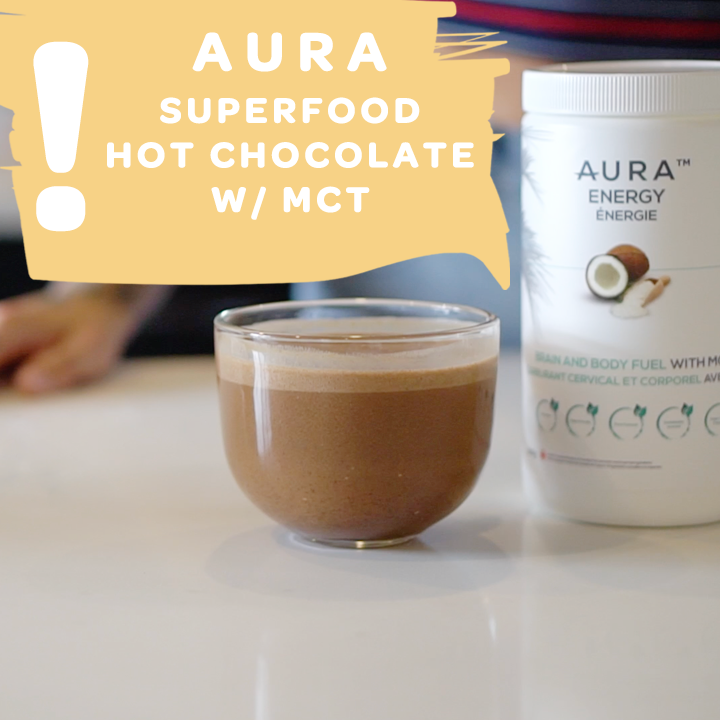 Superfood Hot Chocolate | AURA Kitchen