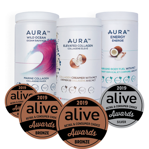 Aive Awards AURA Products