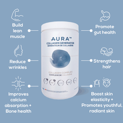 AURA Nutrition Collagen Generator Collagen Blog Post