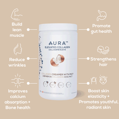 AURA Nutrition Elevated Collagen Collagen Blog Post