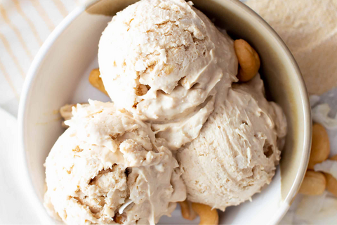 How to Make 5-Minute Protein Ice Cream AURA Recipe Post