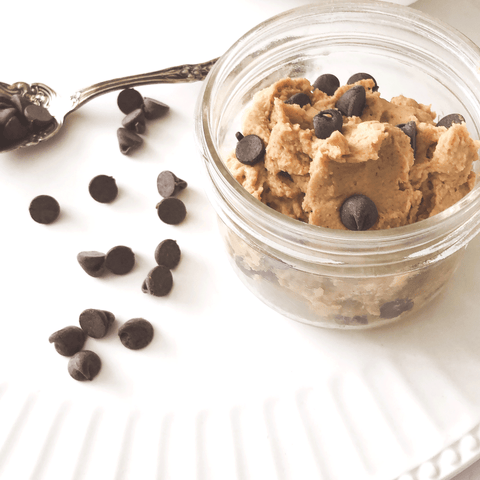 The HEALTHIEST Edible Cookie Dough (Raw/V/GF) | AURA Kitchen