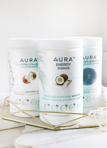 AURA Nutrition Collagen and MCTs
