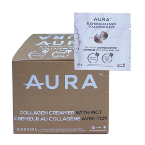 AURA™ Elevated Collagen Sachet Box 8.5g X 10 Individual Sachets