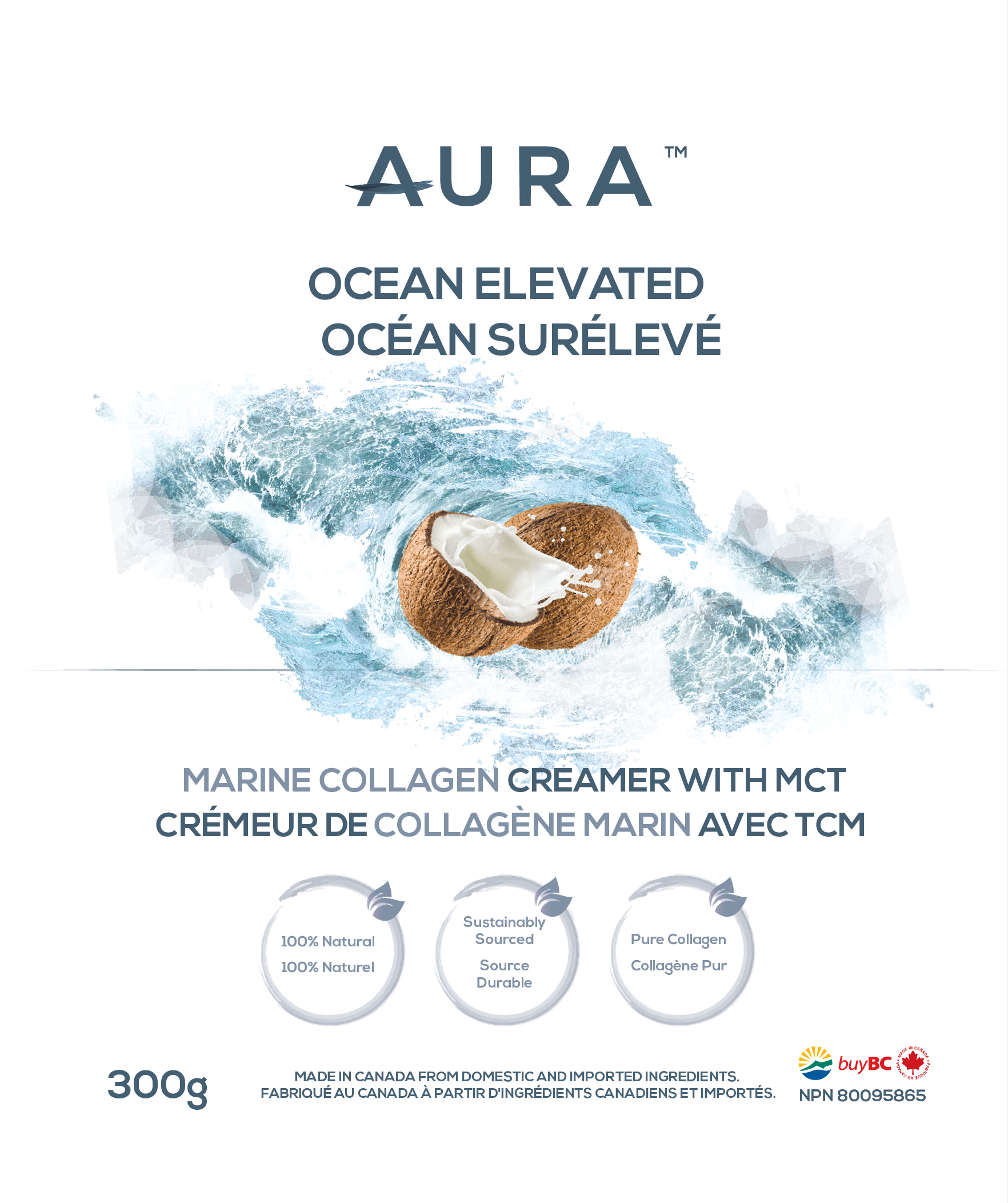 AURA™ Ocean Elevated 300g / 35 Servings