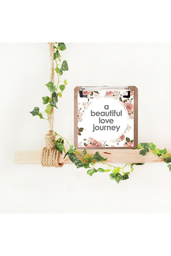 a beautiful love journey | Love Story Print